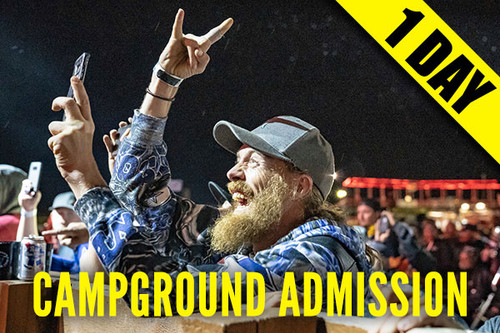 Campground Admission Pass – Friday, Aug. 13, 2021