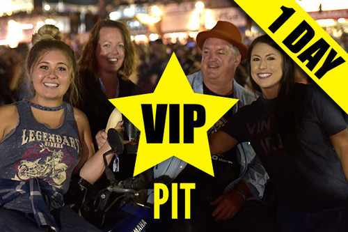 Fan VIP Upgrade-Pit – Friday, Aug. 13, 2021