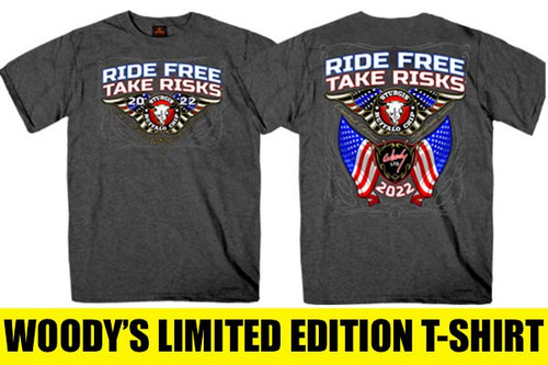 Sturgis Motorcycle Rally Shirt Woody Limited Edition Buffalo Chip