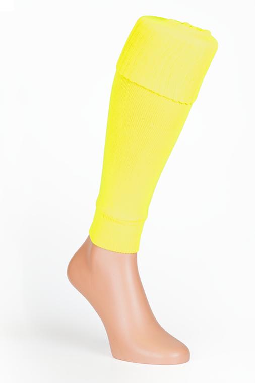 Flo Yellow Socks Leg