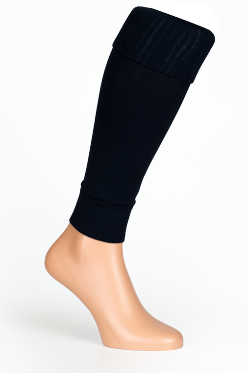 Black Socks Leg