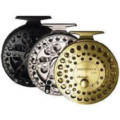 "Sheffield Float Reel Black New s1002 4 1/2"" Spool"