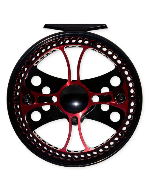 "Raven Fusion XL 5 1/8"" Reel Black/Red"