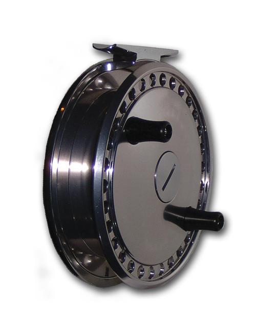 "Raven Matrix 4 3/8"" Titanium Centerpin Float Reel"
