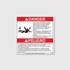 Danger! Do Not Enter Decal