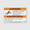 Warning! BK Is Up Decal