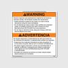 Warning! Aluminum Ext Chute