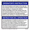 Instructions - No Step Decal (French)