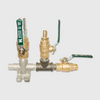 Water Valve for cement mixer & washout systems.