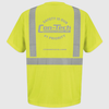 Con-Tech Safety Yellow T-Shirt