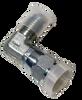 Adapter Hydraulic Slump Hose, #4 fem JIC to #4 Male JIC 90