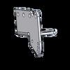 Bracket - Rear Recovery Plate / Adj Bumper Mounting, LH, BK