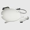 Chute Shield - Narrow Assembly (White) (600904)