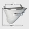 "Standard Charge Hopper 4"" Drop"