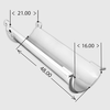 Lightweight Steel Extension Chute