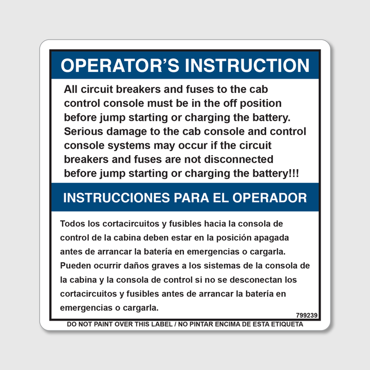 Instructions - Circuit Breakers