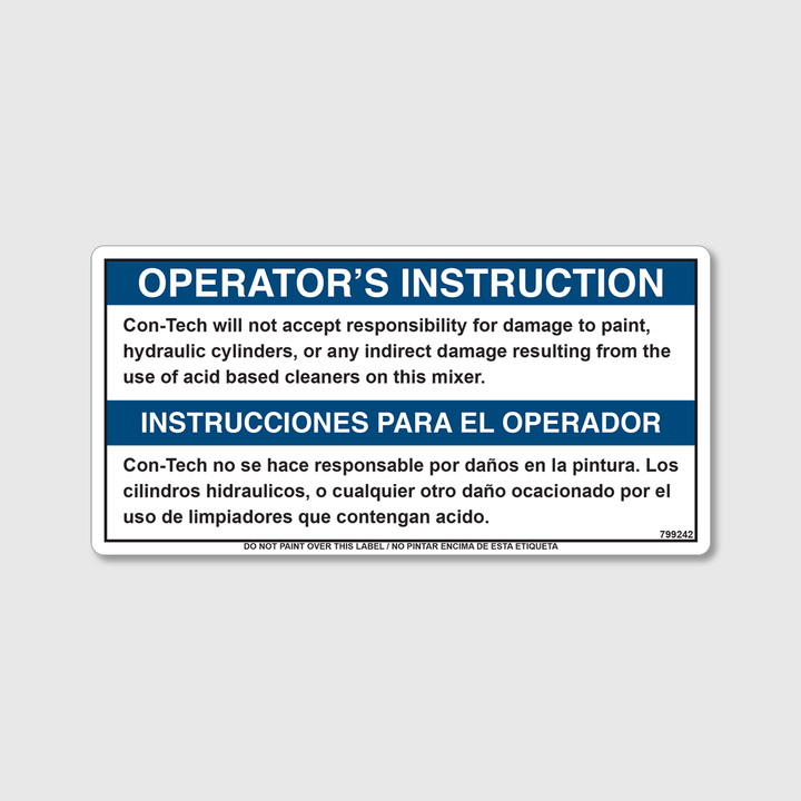 Instructions - Will Not Except Decal