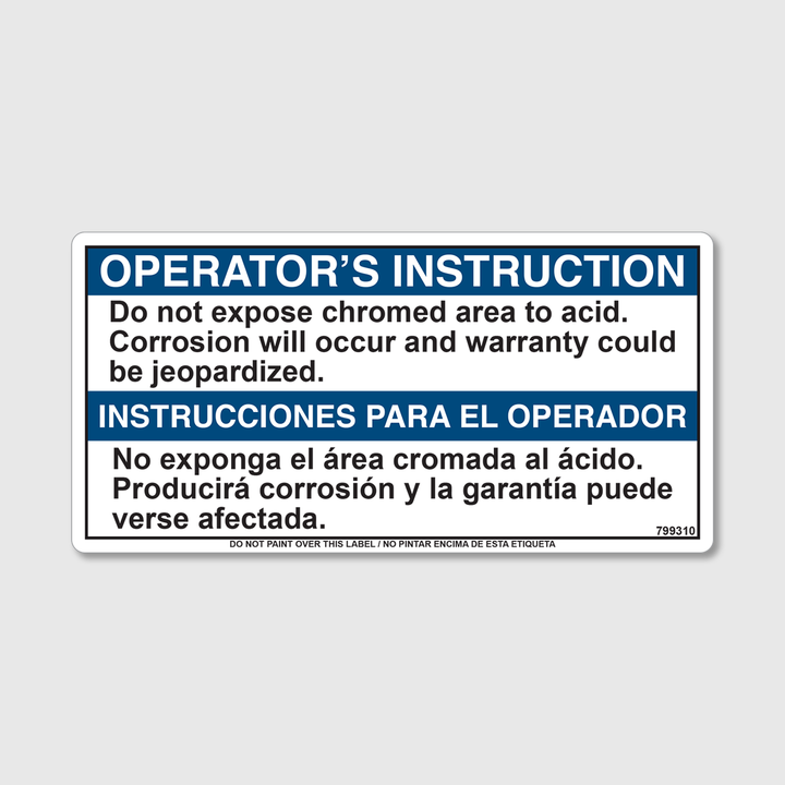 Instructions - No Expose Decal