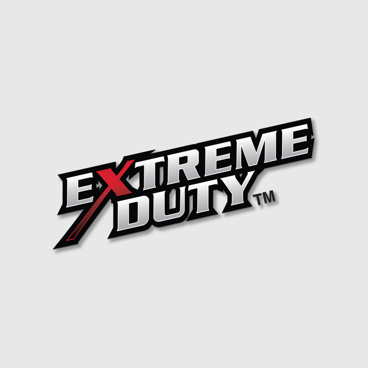 "Extreme Duty Fender Decal, 3"" x 11"""