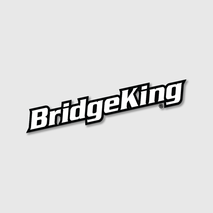 "BridgeKingΨ Fender 3"" x 17"" Vinyl Cut Decal"