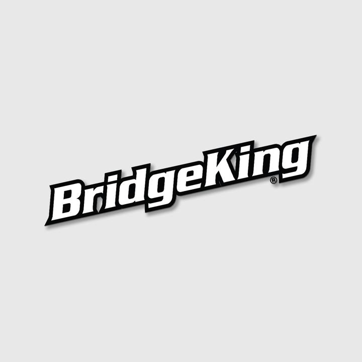 "BridgeKingΨ Fender 3"" x 17"" Vinyl Cut Decal"