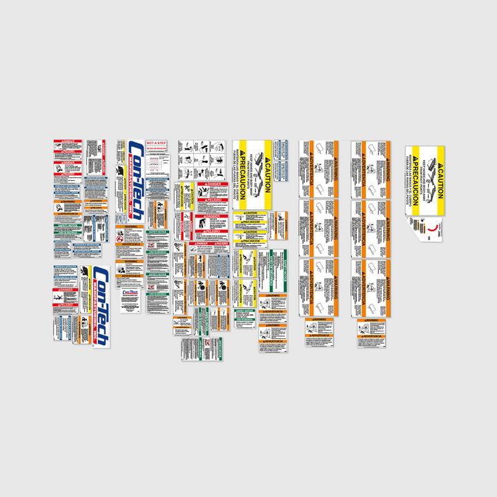 French BridgeKing Decal Kit