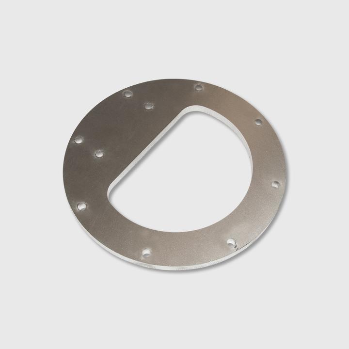 Flopper Assembly Plate