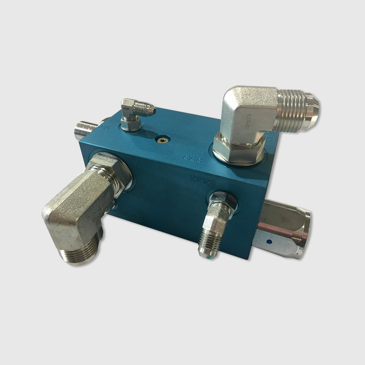 BridgeKing® Cylinder Front Block, Assembly