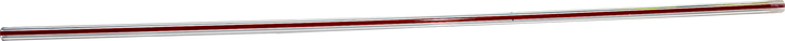 Tube, sight glass with red stripe.