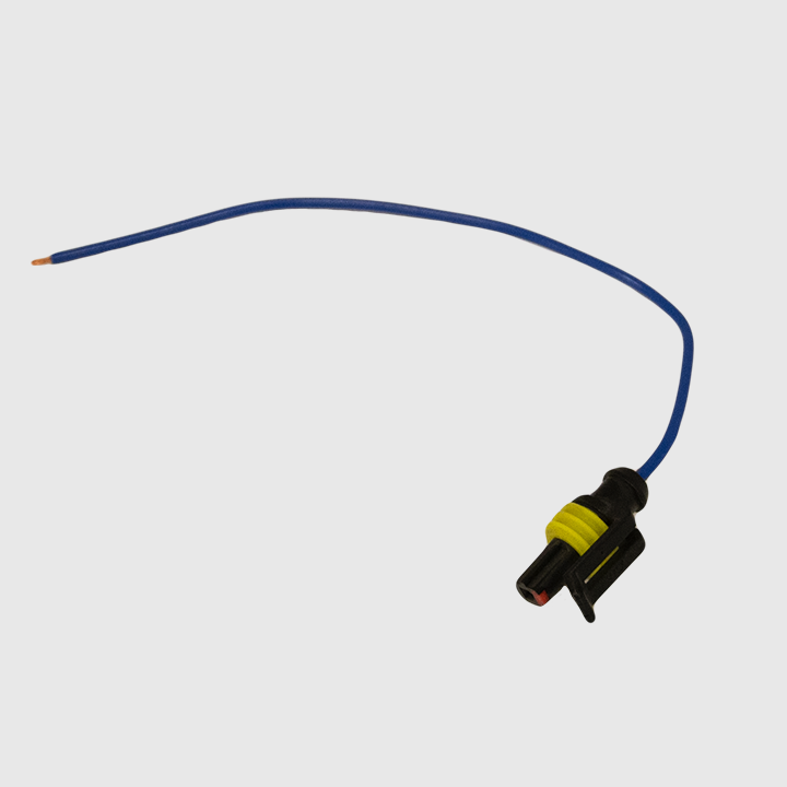 Pigtail - 1 pin AMP Style, For Integrated Backup Light (715057)