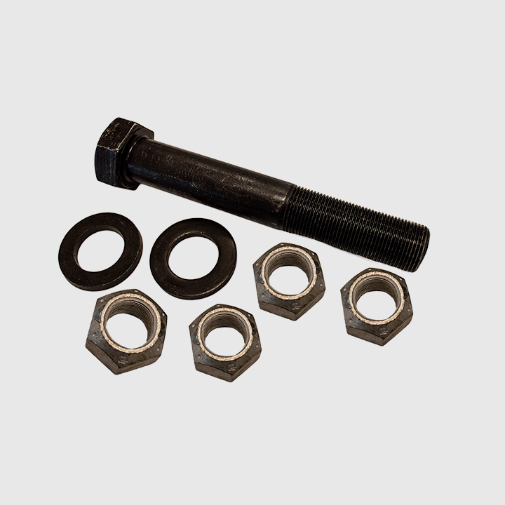 "Kit - Bolt, BK Axle Mounting, 1 1/4"" x 8"" (incl 4 bolts, 4 nuts, 8 washers)"