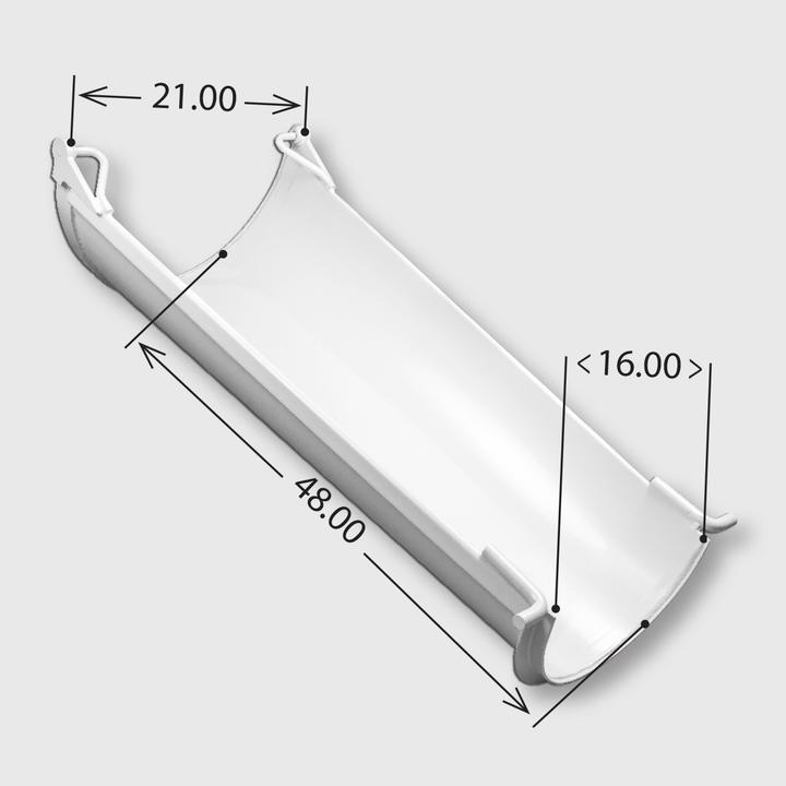 Steel Transition Paver Chute