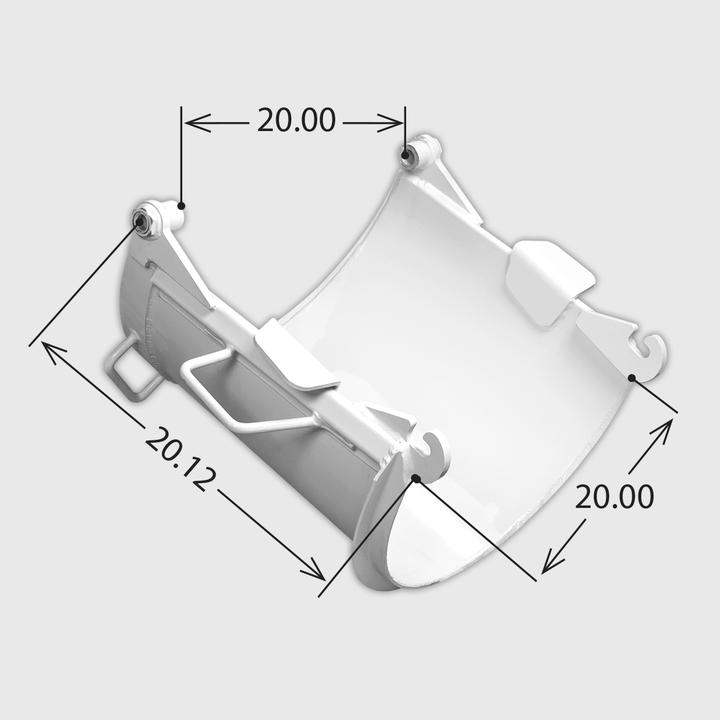 Chute - Paver Foldover Short (Steel)