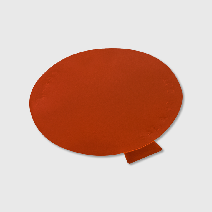 Amber Reflector Decal