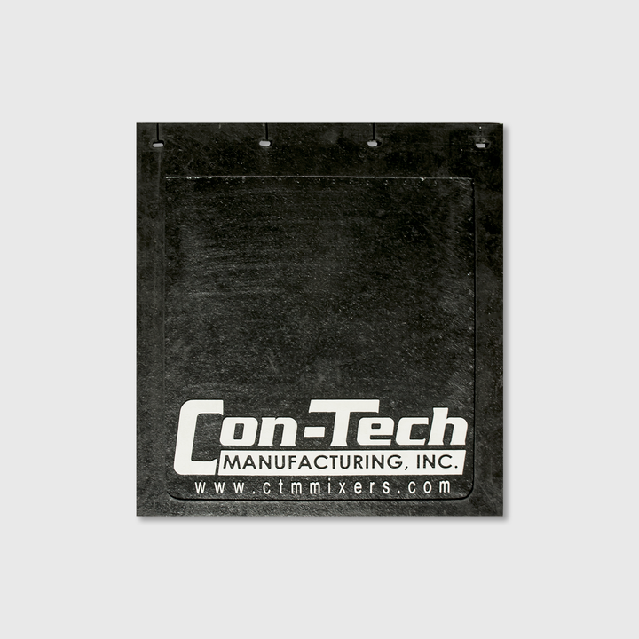 "Con-Tech Rubber Mudflap 24"" x 24"""