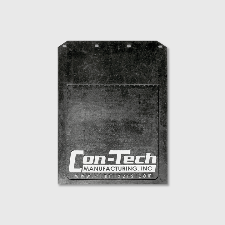 "Con-Tech Rubber Mudflap 30"" x 24"""
