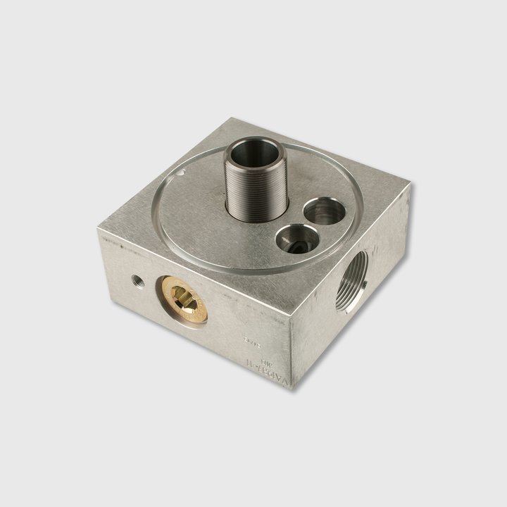 Dual Outlet Filter Head