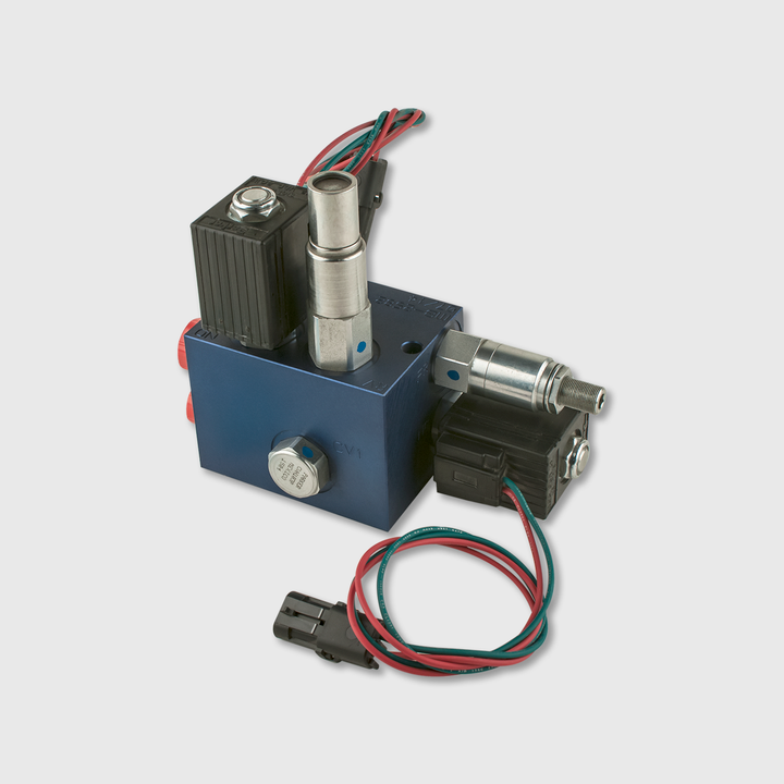 Single Acting Chute Block w/Open Center, mtm