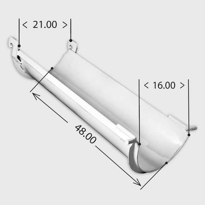 Lightweight Steel Extension Chute