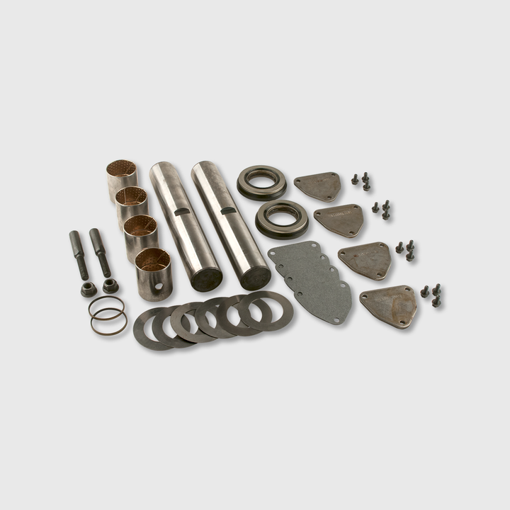 Axle King Pin Kit, Bolt On Cap