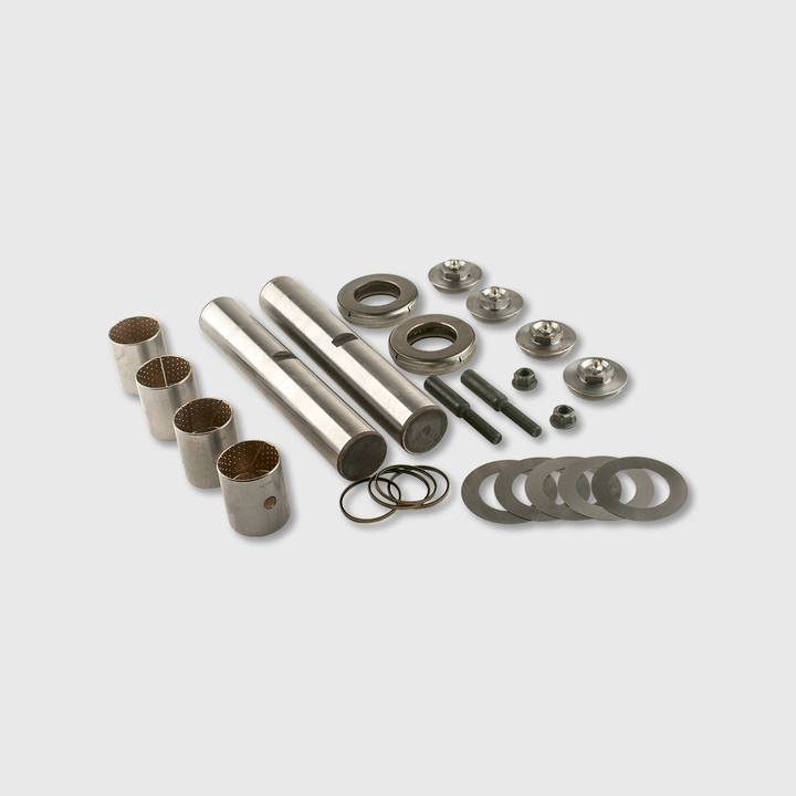 Axle King Pin Kit, Screw On Cap