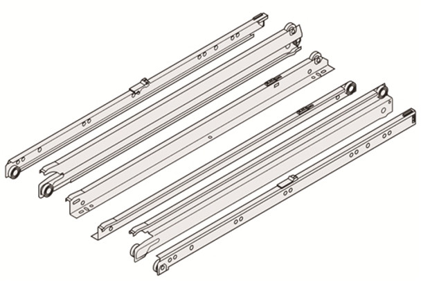 Blum 430E Standard Full Extension Drawer Slides