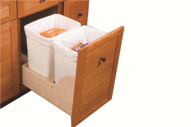 Blum SERVO-DRIVE Waste/Recycle Bin Set