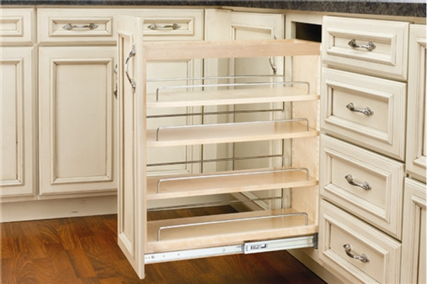 Rev-A-Shelf 448 Series Pull Out Base Organizer with Blumotion