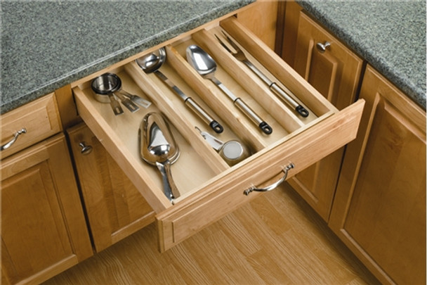 Rev-A-Shelf 4WUT Series Wood Utility Tray Insert