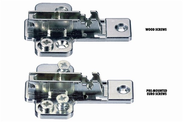 Grass Nexis Cam Base Plate with 3-point Fixing