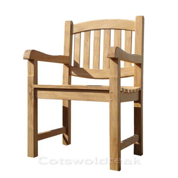 Giant Solid Teak Chair