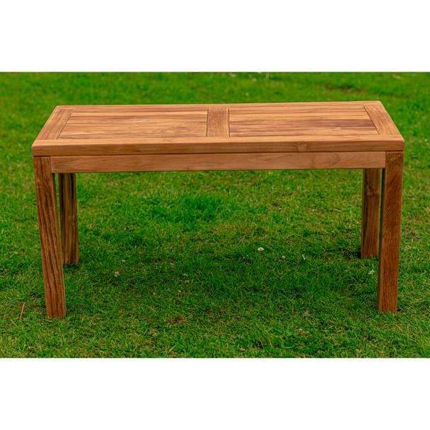 Solid Teak Burford Coffee Table - 100cm x 50cm