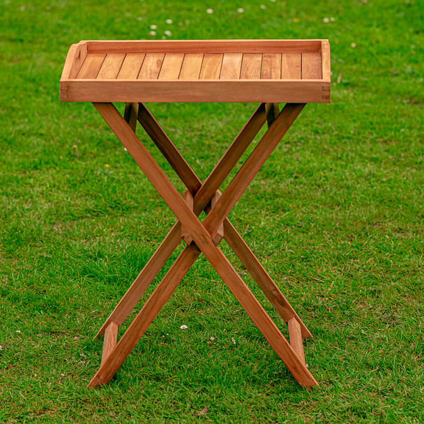 Solid Teak Hidcote Butlers Tray