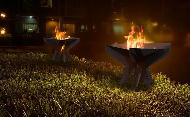 Hex Garden Fire Pit